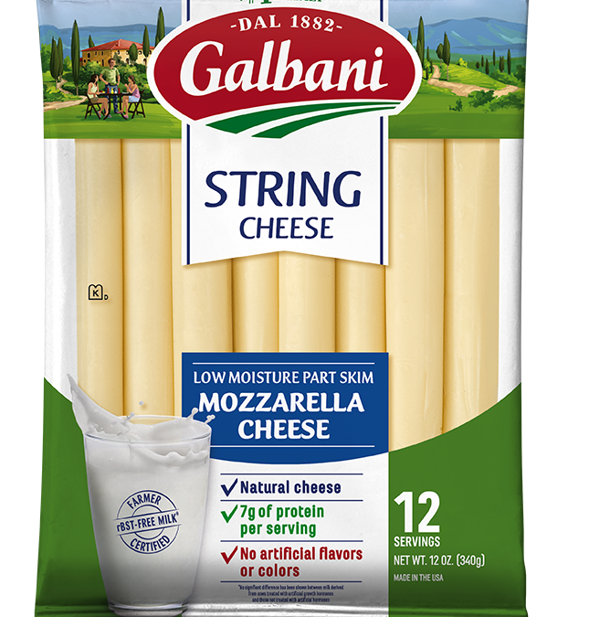 Part Skim Mozzarella String Cheese