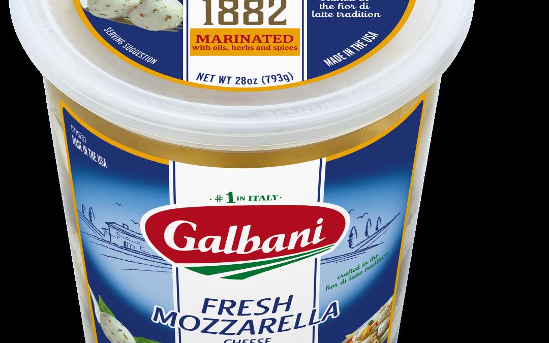 Fresh Mozzarella Marinated