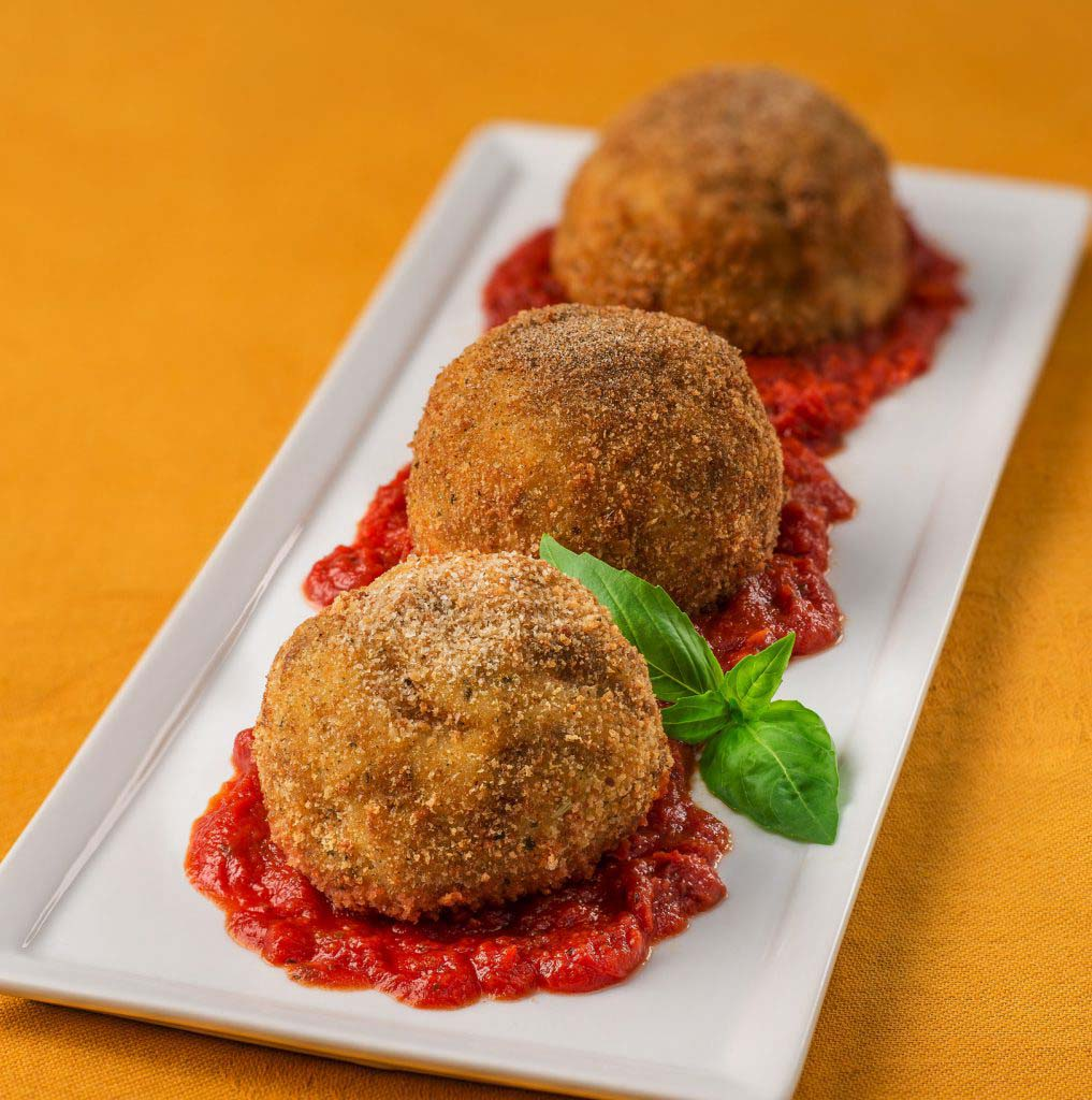 Arancini Balls Galbani Cheese Authentic Italian Cheese