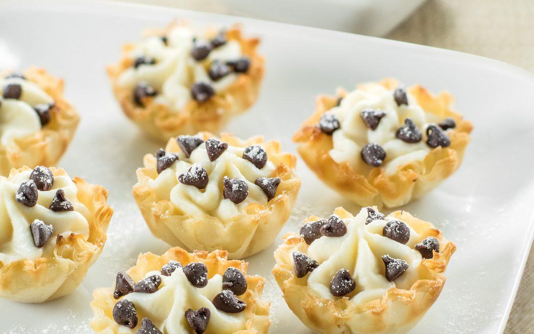 Cannoli Bites