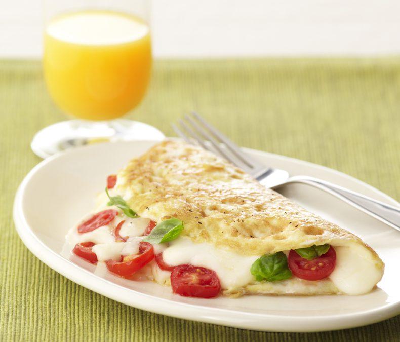 Caprese Egg White Omelet