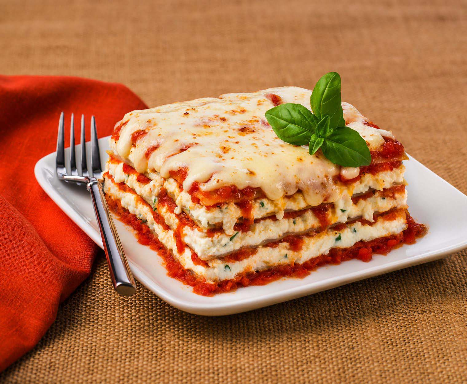 Classic Cheese Lasagna Galbani Cheese Authentic