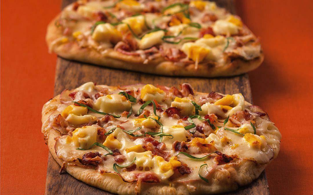 Colazione Breakfast Pizza