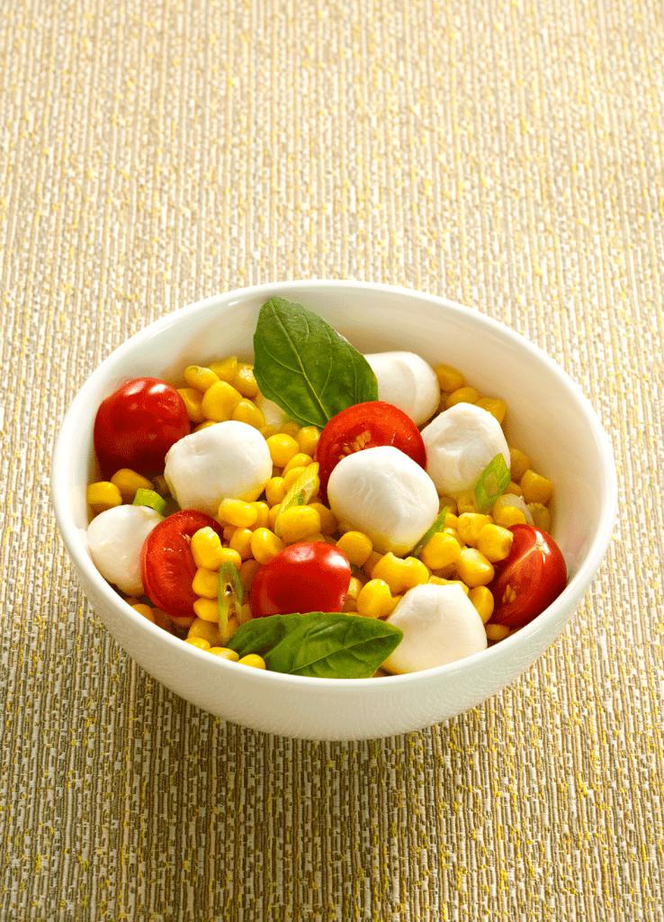Caprese Corn Salad Recipe — Dishmaps