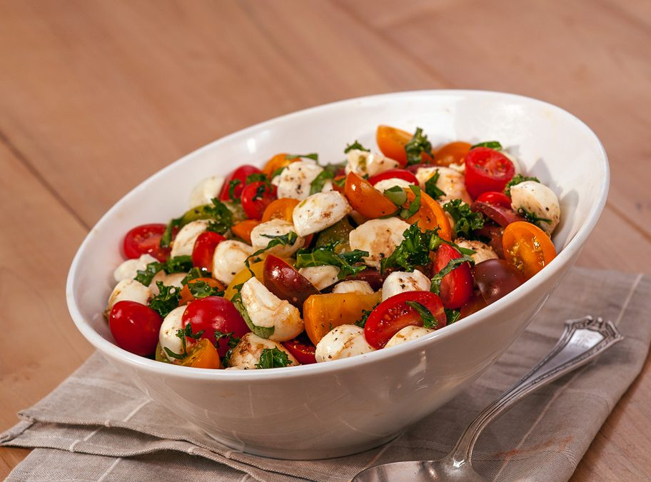 Fresh Mozzarella Heirloom Tomato Salad