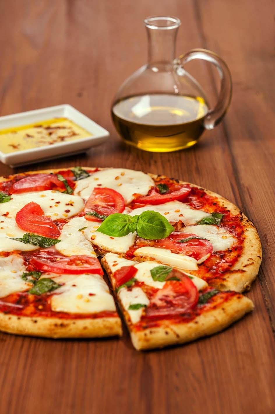 Fresh Mozzarella Margherita Pizza Galbani Cheese Authentic Italian