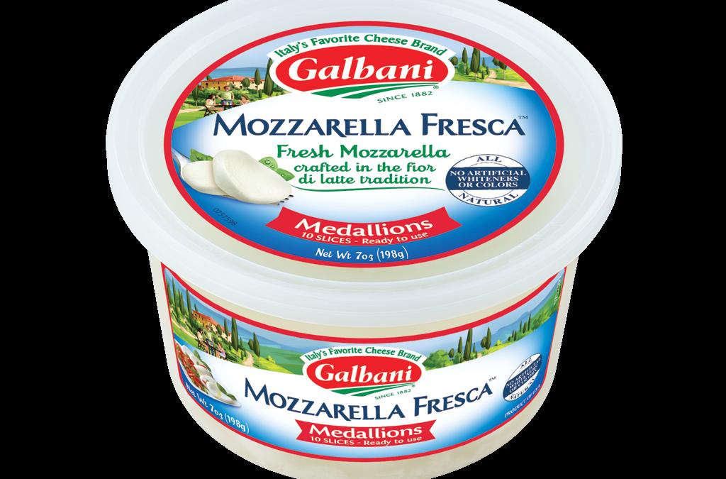 Fresh Mozzarella Medallions Cup