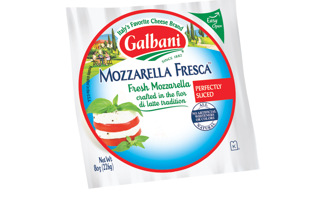 Fresh Mozzarella Sliced Ball