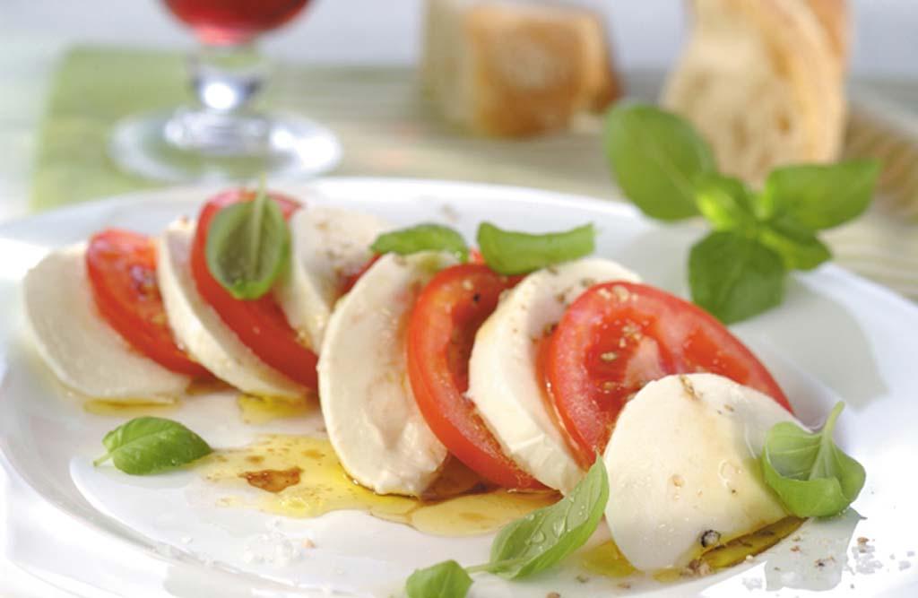 Caprese Salad with Guacamole