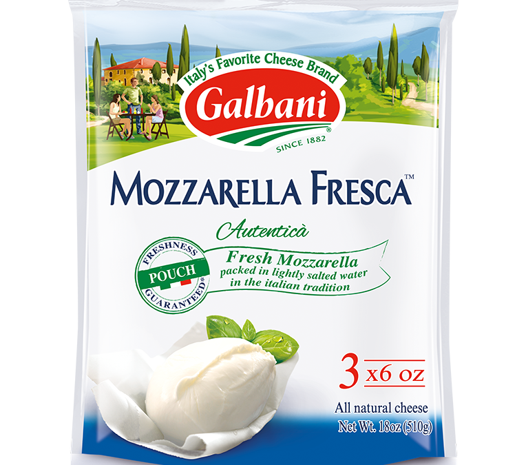 Fresh Mozzarella Pouch Multi-Pack