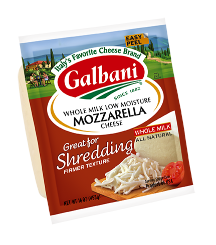 Mozzarella Great for Shredding LM