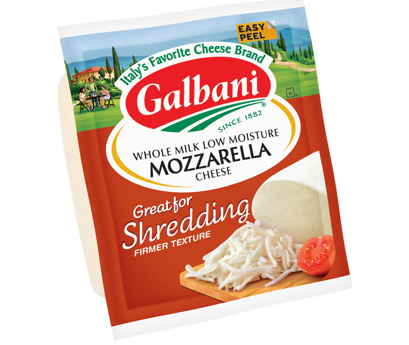 Mozzarella Great for Shredding
