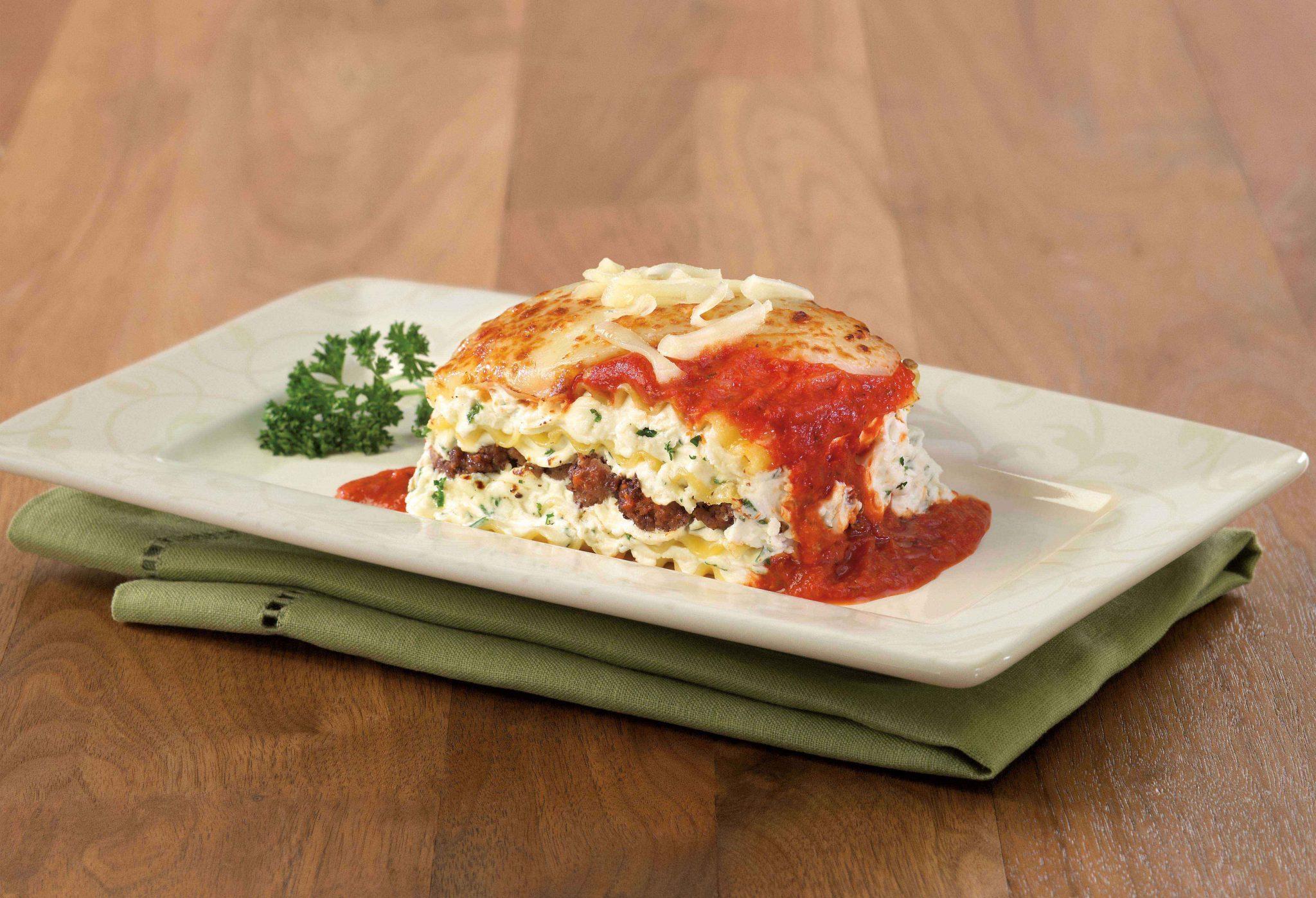Meat Amp Cheese Lasagna Galbani Cheese Authentic Italian