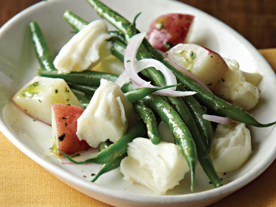 Mozzarella, Baby Potato, and Green Bean Salad