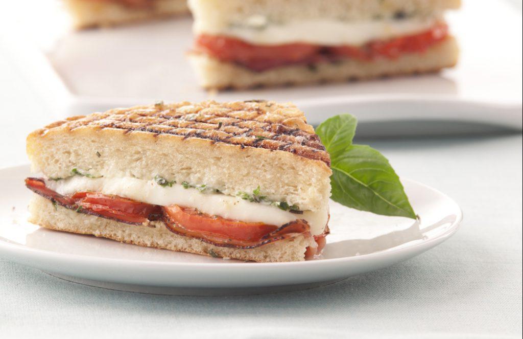 Panini with Prosciutto and Fresh Mozzarella | Galbani ...