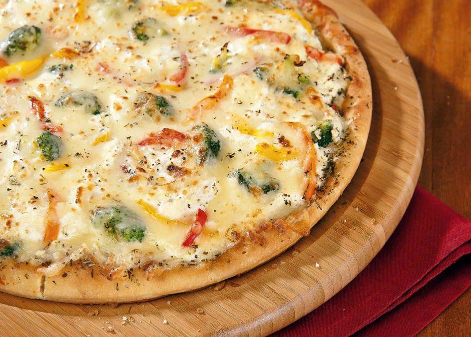 Veggie Ricotta Pizza