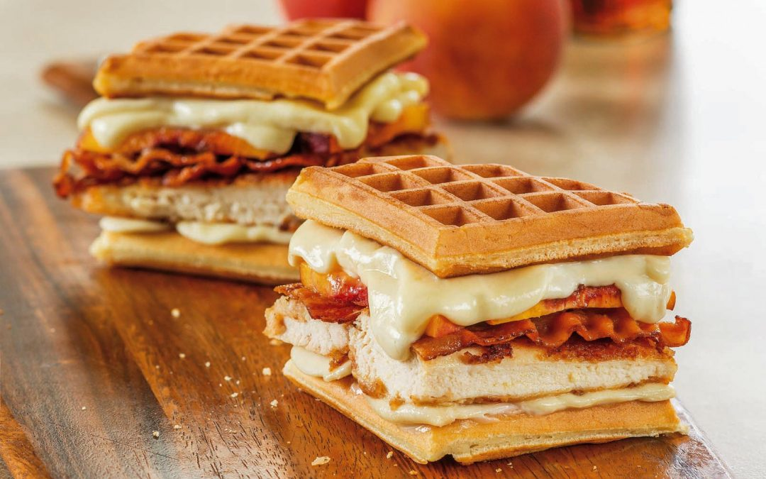 Chicken and Waffles Grilled Cheese