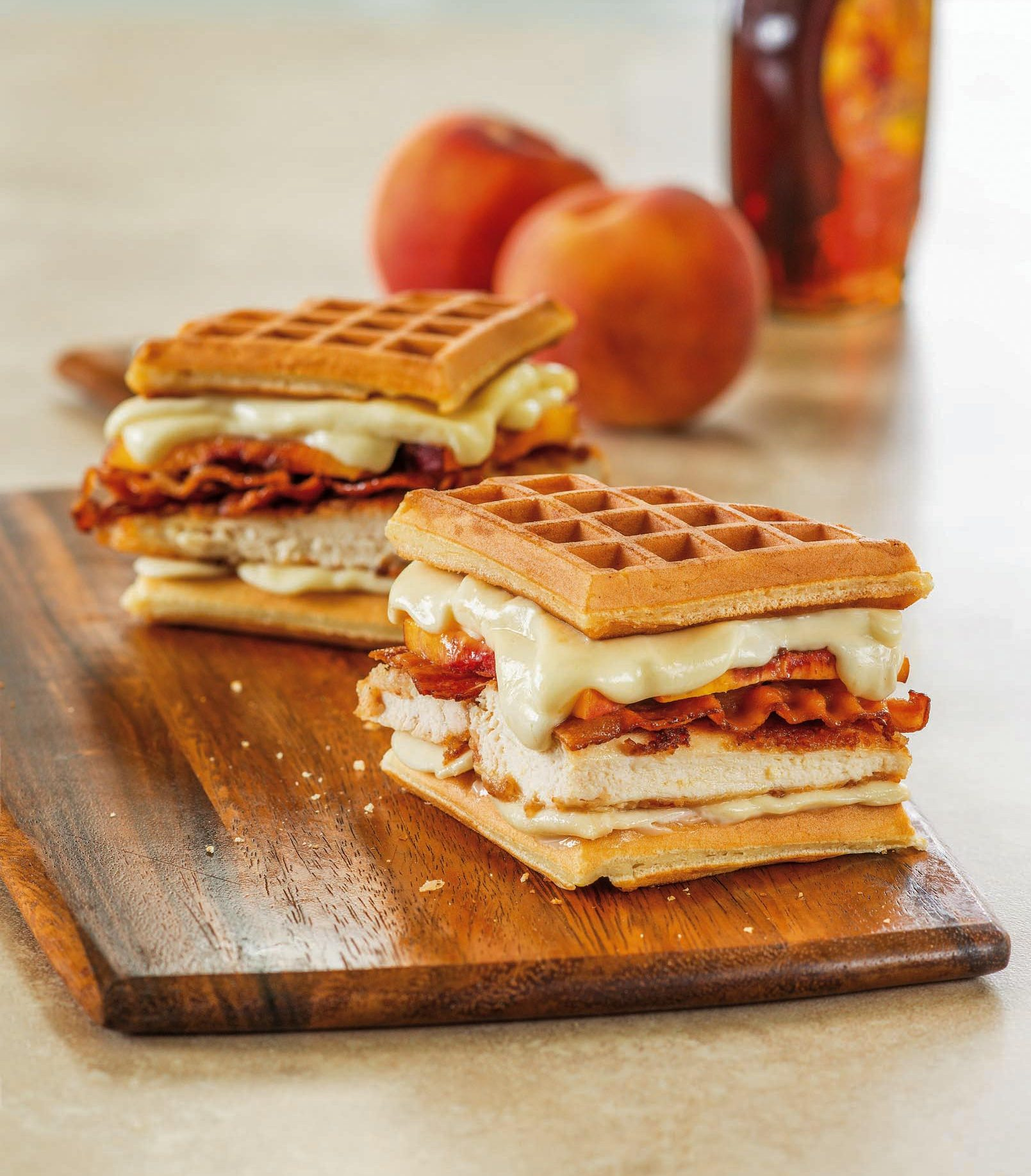 Chicken And Waffles Grilled Cheese Galbani Cheese Authentic Italian Cheese