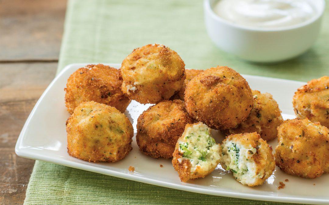 Broccoli Ricotta Bites