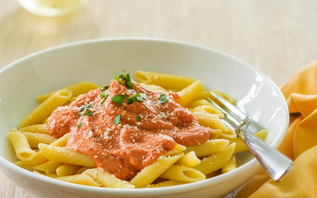 Penne with Ricotta and Marinara