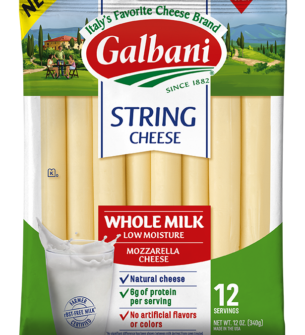 Whole Milk Mozzarella String Cheese