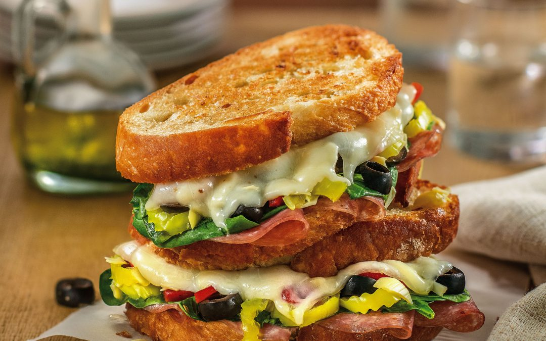 Antipasto Grilled Cheese