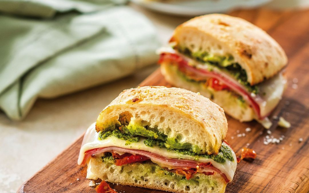 Toasted Italian Sub with Galbani Sliced Provolone