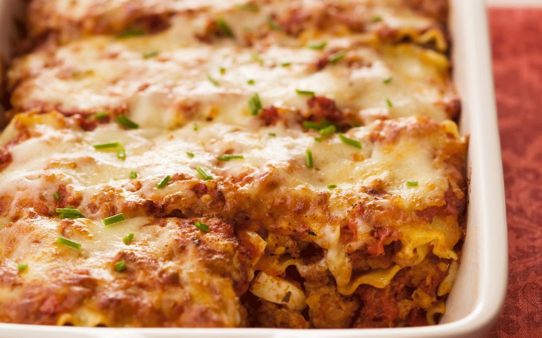 Meatball Lasagna (Neopolitan Style)