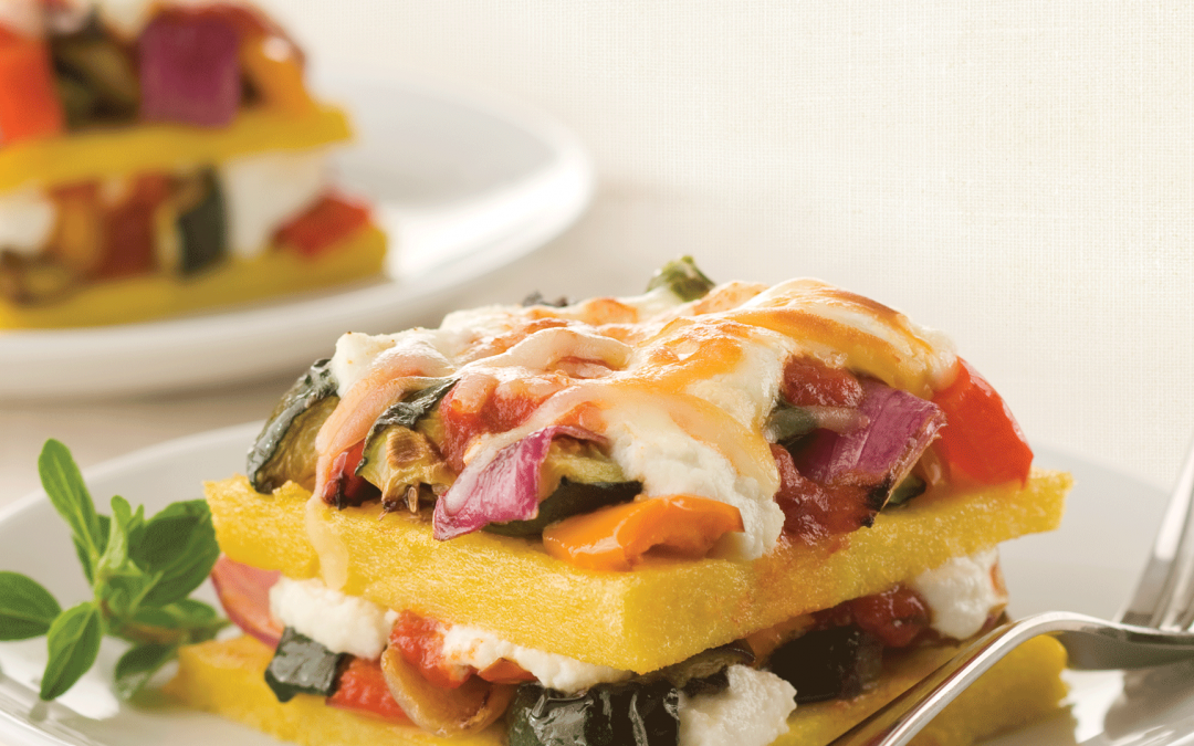 Polenta and Roasted Vegetable Lasagna