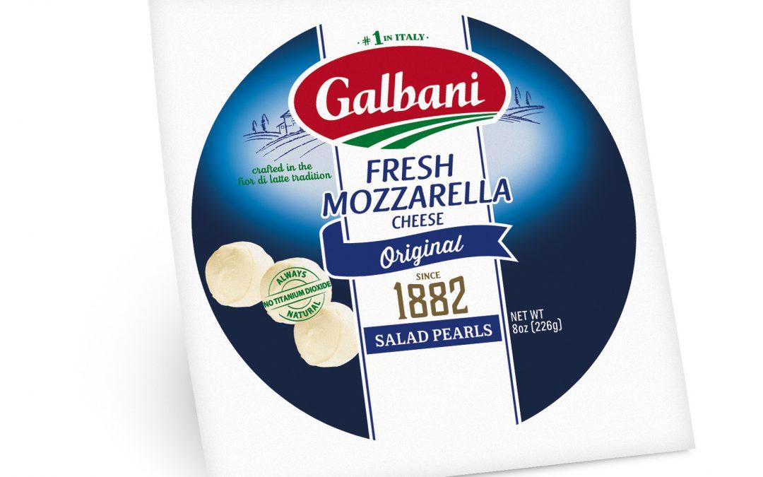 Fresh Mozzarella Salad Pearls
