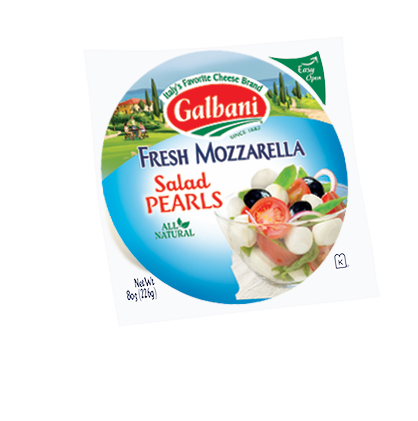 Fresh Mozzarella Salad Pearls
