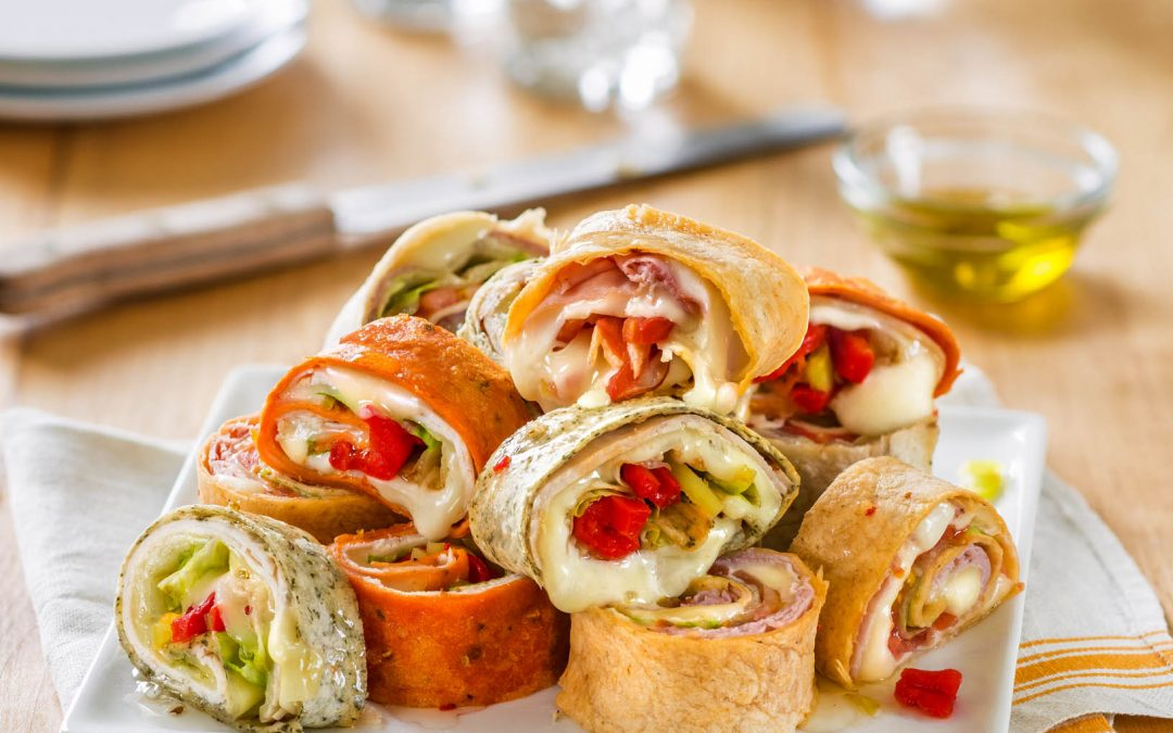 Galbani Cheese and Meat Roll-Ups