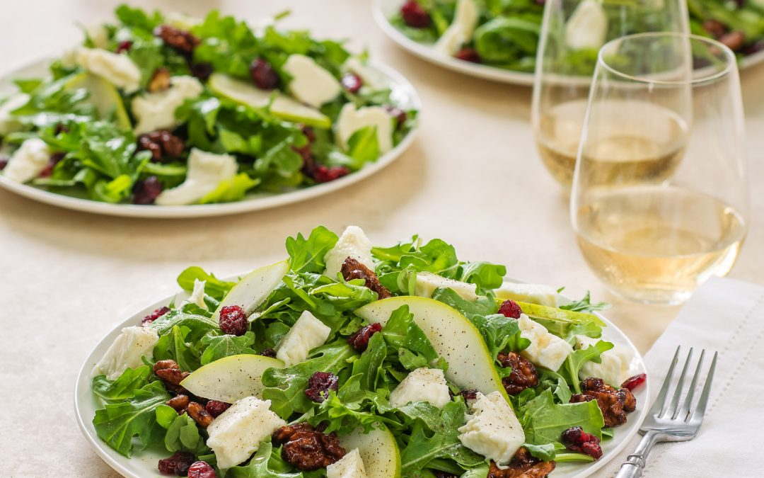 Pear and Arugula Salad