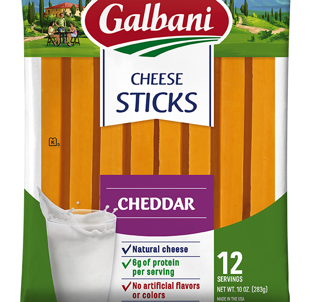 Cheddar Stick Cheese - Galbani Cheese