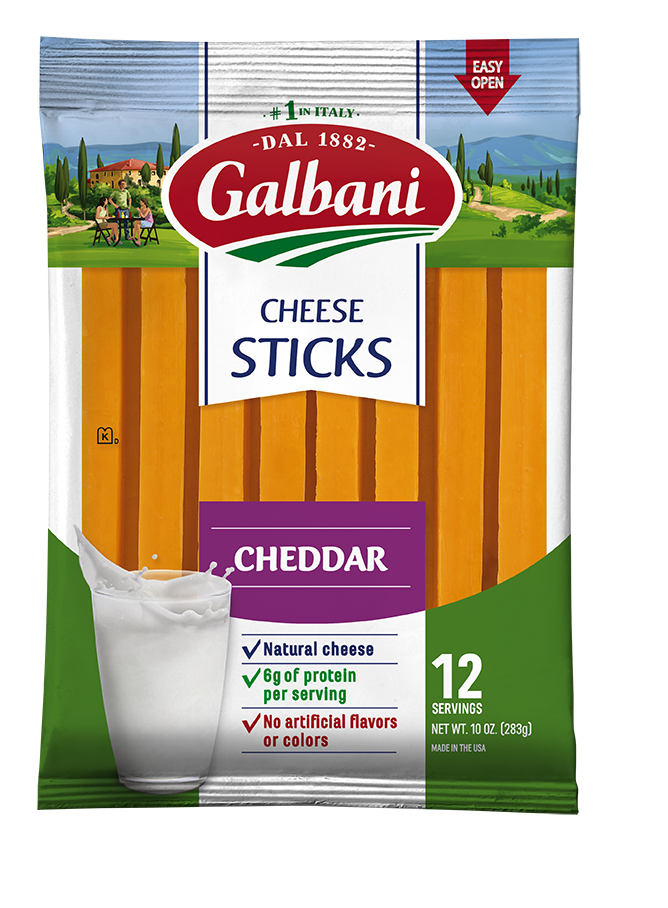 Cheddar Snack Cheese - Galbani Cheese