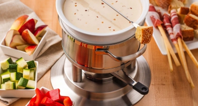 3 Cheese Stout Fondue - Galbani Cheese
