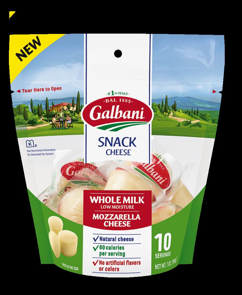 Whole Milk Mozzarella Snack Cheese - Galbani Cheese