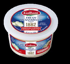 Fresh Mozzarella Medallions Cup - Galbani Cheese