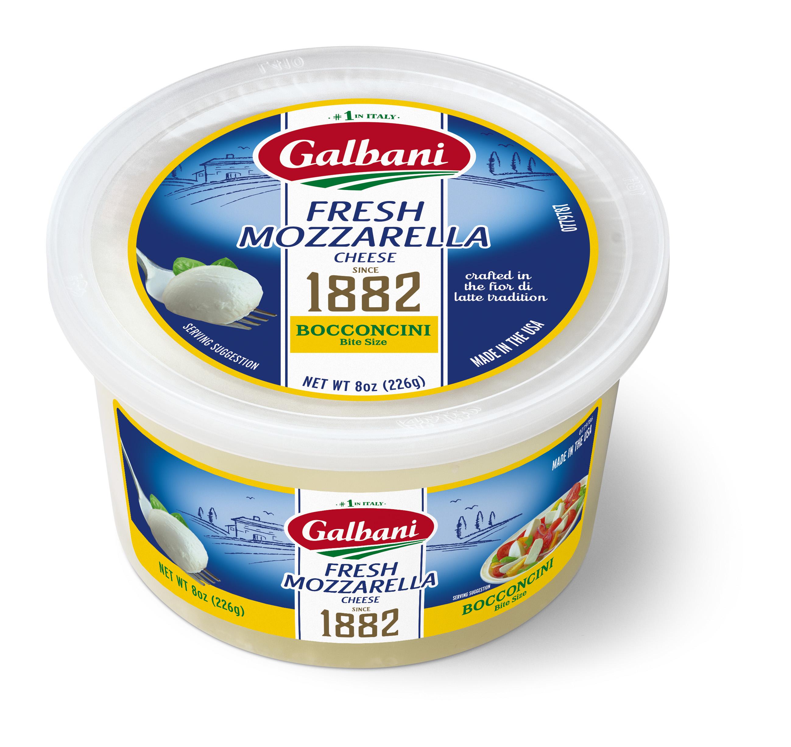 Fresh Mozzarella Bocconcini - Galbani Cheese
