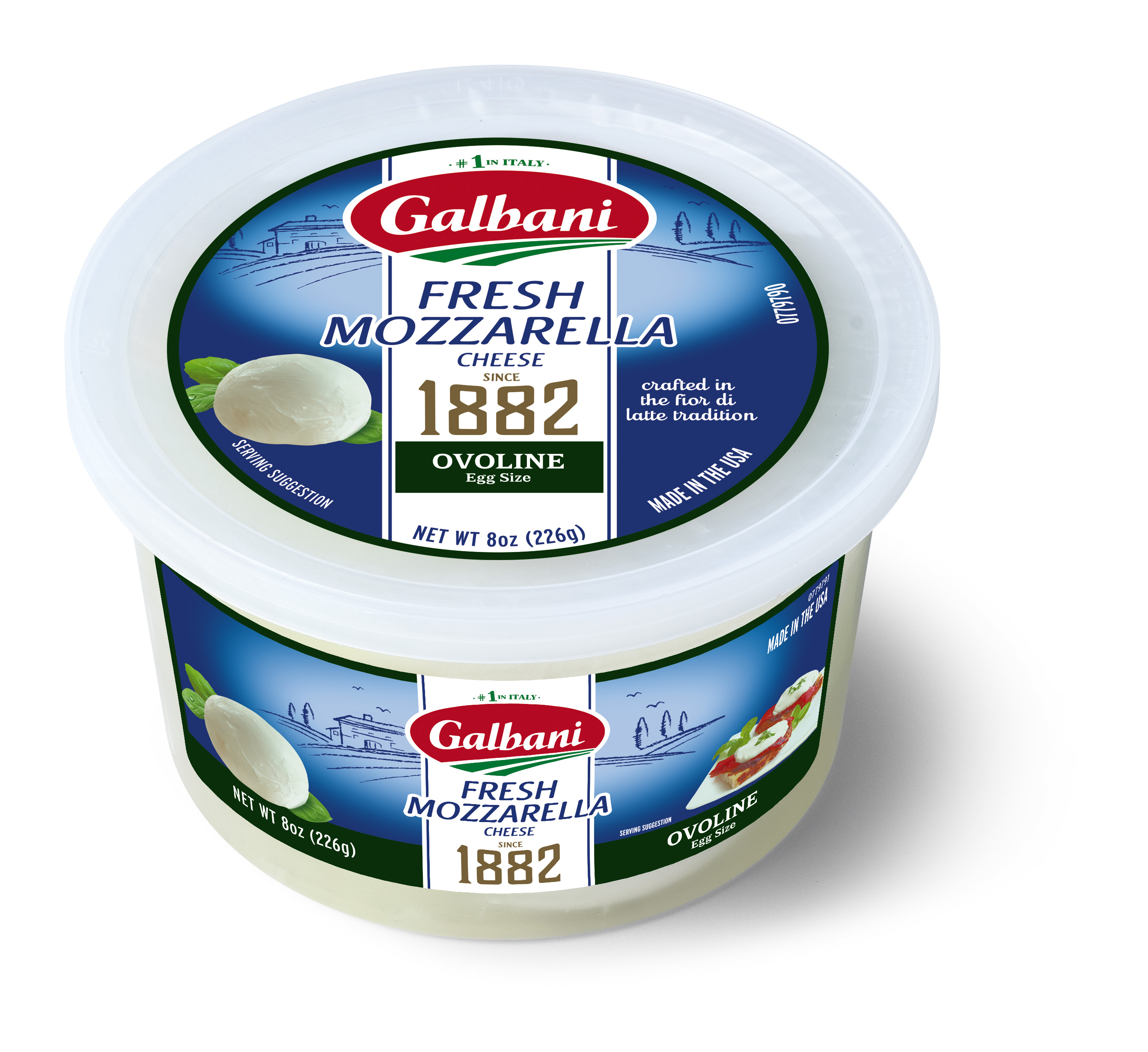 Fresh Mozzarella Ovoline - Galbani Cheese