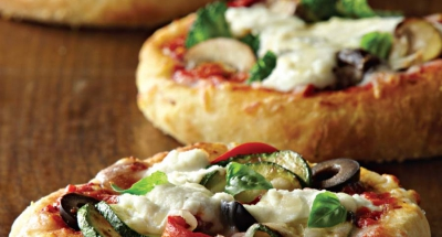 Assorted Mini Pizzas with Mozzarella and Ricotta - Galbani Cheese
