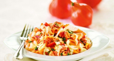 Baked Penne with Ricotta and Mozzarella - Galbani Cheese