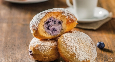 Blueberry Ricotta Donuts - Galbani Cheese