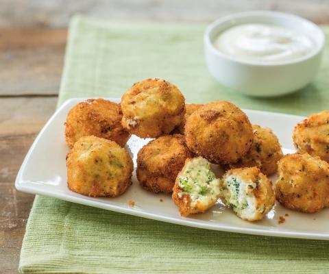 Broccoli Ricotta Bites - Galbani Cheese
