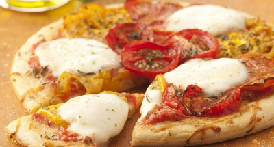 Caprese Pizza - Galbani Cheese