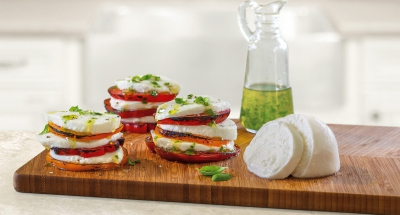 Grilled Caprese - Galbani Cheese