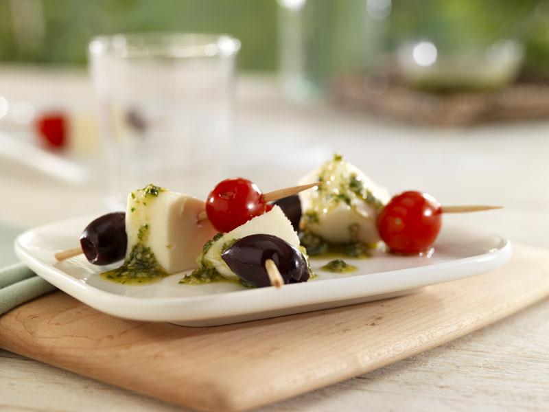 Caprese and Olive Skewers - Galbani Cheese