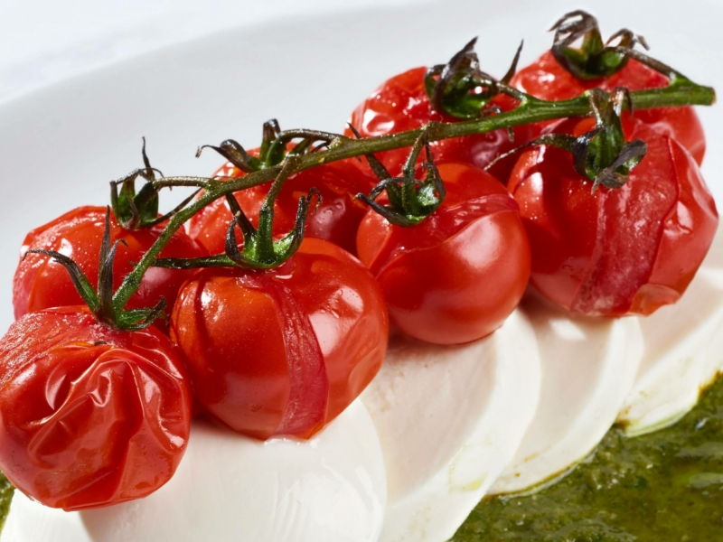 Oven Roasted Caprese - Galbani Cheese