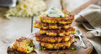 Cheesy Zucchini Fritters - Galbani Cheese