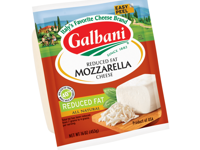 Reduced Fat Mozzarella - Galbani Cheese